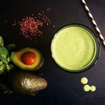 Simple + Healthy No-Fruit Smoothie recipe