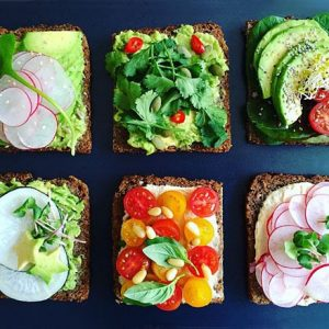 Breakfast Tartines I