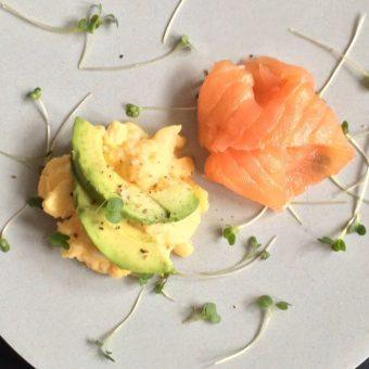 Simple + Healthy Egg & Cress recipe