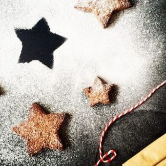 Simple + Healthy Nordic Ginger Biscuits recipe