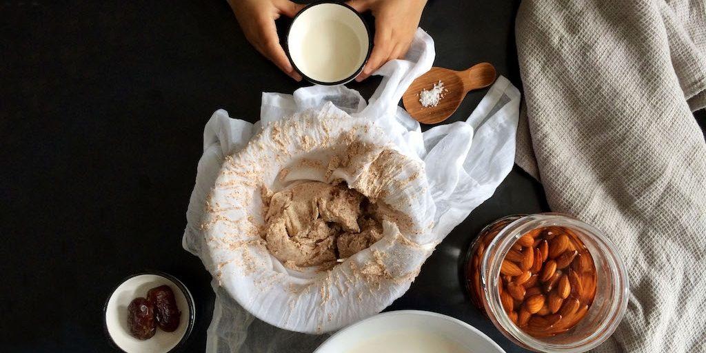 Simple + Healthy Nut Milk Recipe