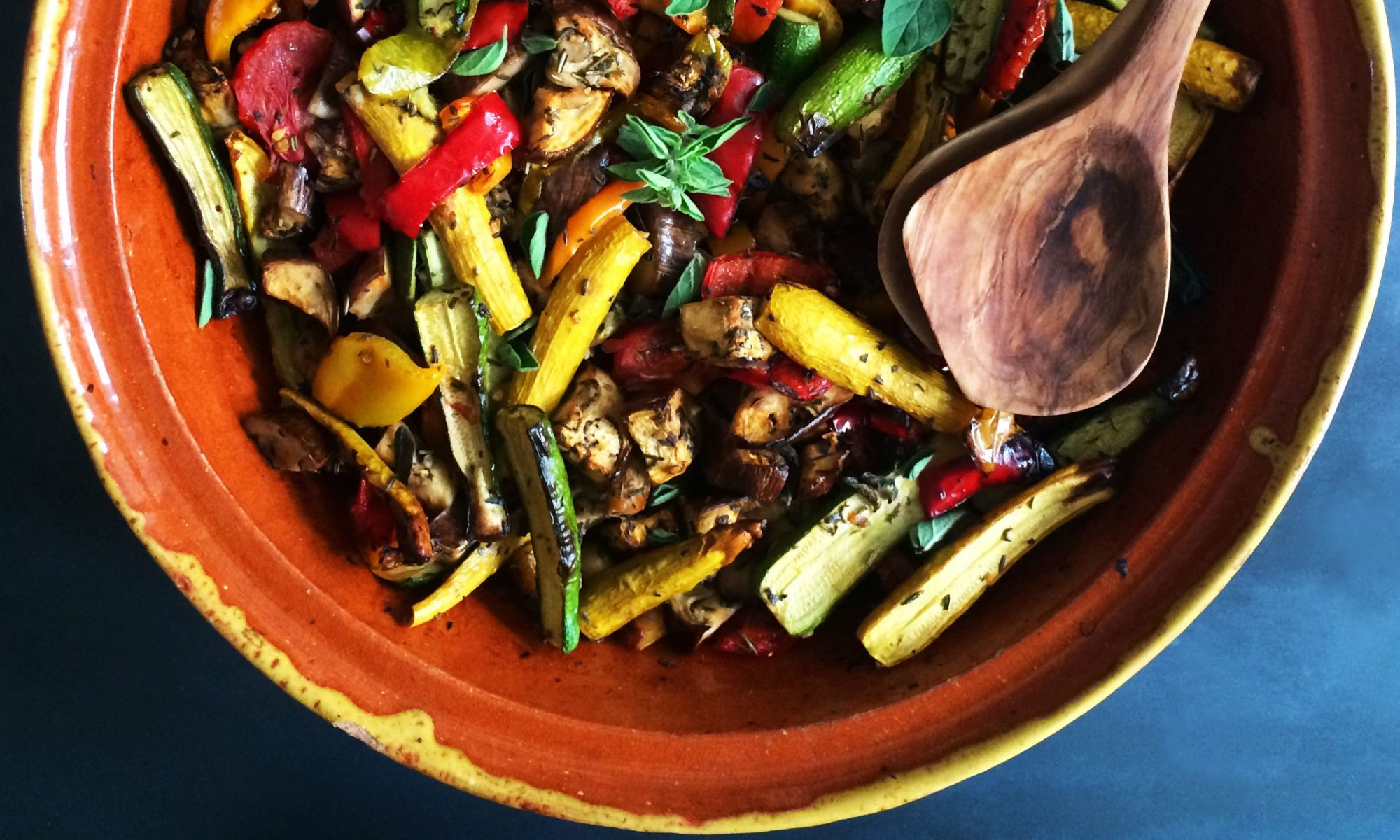 Simple + Healthy Ratatouille recipe
