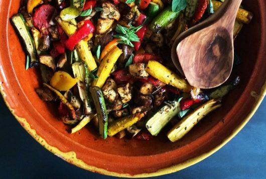 Simple + Healthy Ratatouille recipe