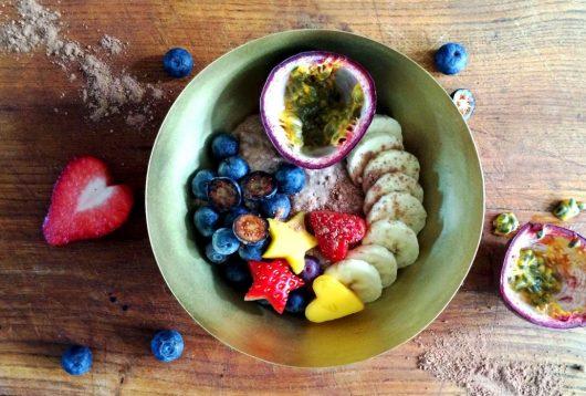 Simple + Healthy Chia & Vanilla Breakfast (or chocolate!) recipe