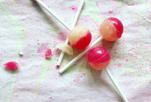 Lollipops from Simple + Healthy
