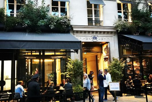 EATING ON TERRACES IN PARIS FROM SIMPLE + HEALTHY