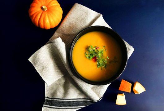 Simple + Healthy Thai Pumpkin Soup recipe