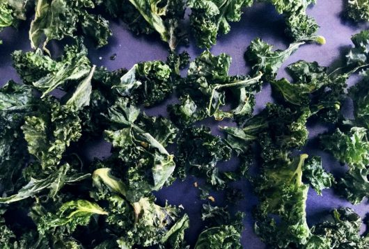 Simple + Healthy Kale Crisps recipe